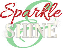 Sparkle & Shine Royalty Free Stock Photography