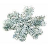 Sparkle snowflake. Isolated on a white background Royalty Free Stock Photography