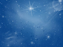 Sparkle space Royalty Free Stock Images