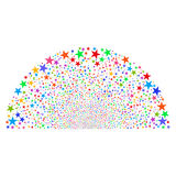 Sparkle Star Dome Royalty Free Stock Image