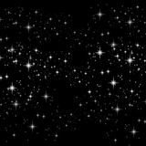 Sparkle Stars Background Stock Image