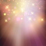 Sparkle stars background Stock Photos