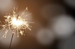Sparkler - Παραμονή Πρωτοχρονιάς Στοκ φωτογραφίες με δικαίωμα ελεύθερης χρήσης