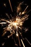 sparkler крупного плана Стоковые Изображения RF