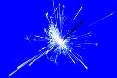 sparkler пожара Стоковое Изображение
