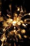 sparkler предпосылки черный Стоковые Фотографии RF