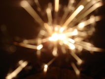 sparkler феиэрверка Стоковые Фотографии RF