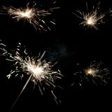 Sparkler Royalty Free Stock Photos