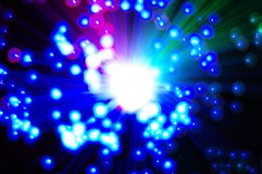 Sparkler. Holiday multicolored stars sparkler closeup Royalty Free Stock Photos