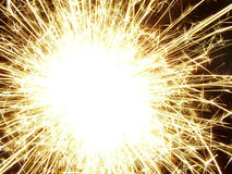 Sparkler! Stock Photography