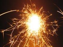 ι sparkler Στοκ εικόνα με δικαίωμα ελεύθερης χρήσης
