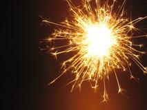 ΙΙ sparkler Στοκ φωτογραφία με δικαίωμα ελεύθερης χρήσης