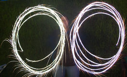 Sparkler Photos stock