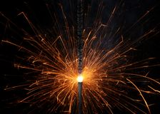 Sparkler Royalty Free Stock Photography