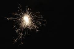sparkler Imagen de archivo libre de regalías