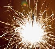 sparkler Стоковая Фотография