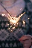 sparkler Fotos de archivo libres de regalías