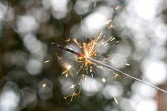 sparkler Fotografía de archivo