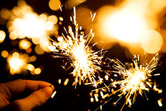 sparkler fotos de stock royalty free