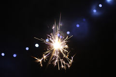 sparkler Στοκ Φωτογραφίες