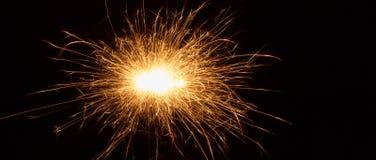 sparkler Foto de Stock