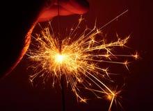 sparkler Royalty-vrije Stock Afbeelding