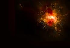 sparkler Stockbild