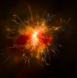 sparkler Fotografía de archivo libre de regalías