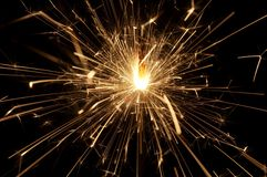 Sparkler-6. Sparkles Royalty Free Stock Photo