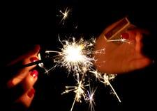 sparkler Images libres de droits