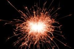 sparkler Στοκ φωτογραφία με δικαίωμα ελεύθερης χρήσης