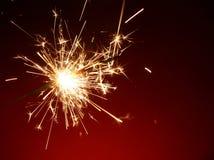 Sparkler. The stock photo of a sparkler Royalty Free Stock Photo