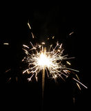sparkler Photo stock