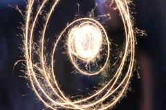 sparkler Στοκ εικόνα με δικαίωμα ελεύθερης χρήσης