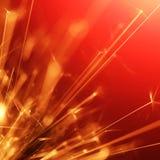 Sparkler abstracto Fotos de archivo libres de regalías