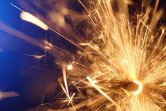 Sparkler abstrato Foto de Stock