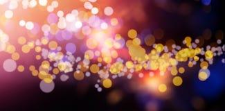 Sparkler against defocused background Stock Images