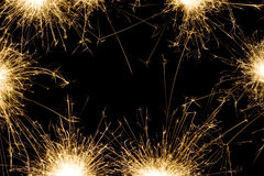 Sparkler background Stock Photography