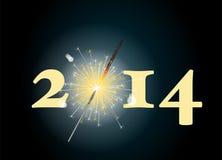 2014 sparkler Stock Images