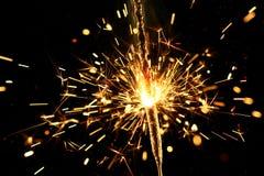 sparkler bożego narodzenia Zdjęcie Stock