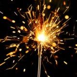 sparkler bożego narodzenia Fotografia Stock