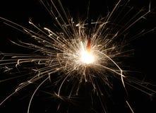 sparkler de feu d'artifice Image libre de droits