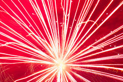 Sparkler Detail Royalty Free Stock Images