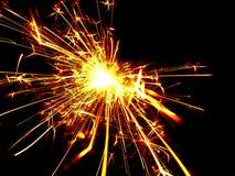 Sparkler dla Akcyjnych projektów Zdjęcie Royalty Free