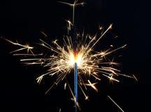 sparkler för bengal lampa Arkivfoton