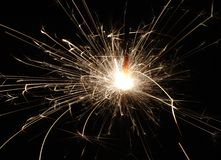 Sparkler Firework Royalty Free Stock Image