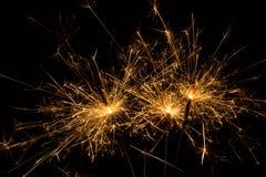 sparkler firework Stock Photos