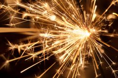 Sparkler fireworks Stock Photos
