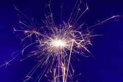 Sparkler fireworks Stock Photography