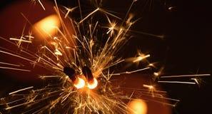 Sparkler fireworks Stock Photo
